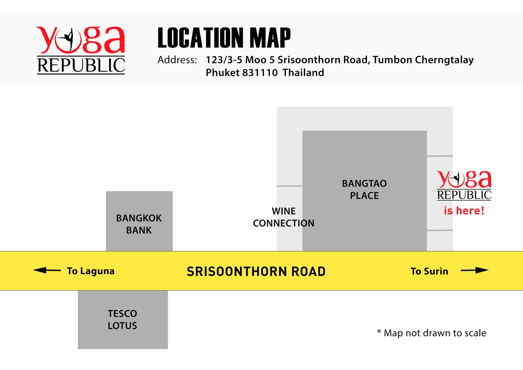 Yoga Republic Location
